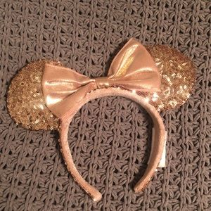 Minnie Mouse Rose Gold Ears